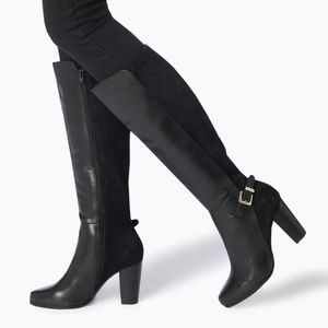 Knee High Buckle Strap Boots